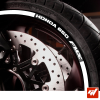 Kit Liserets Jante Moto Honda 650 FMX 8 mm