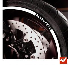 Kit Liserets Jante Moto Honda SEVEN FIFTY 8 mm