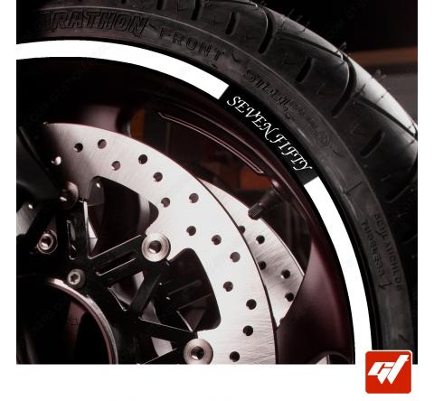 Kit Liserets Jante Moto Honda SEVEN FIFTY Alternative 8 mm