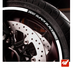 Kit Liserets Jante Moto Honda 1100 Super Blackbird 8 mm