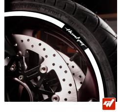Kit Liserets Jante Moto Honda Hornet Alternative 1 - 8 mm