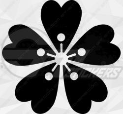 Sticker Fleurs 1