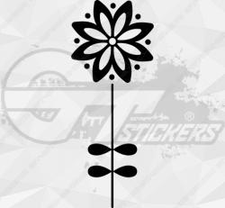 Sticker Fleurs Tige 5