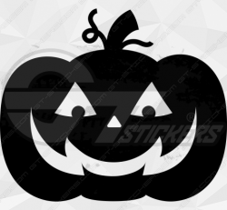 Sticker Citrouille Halloween 6
