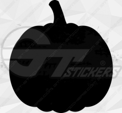 Sticker Citrouille Halloween 17