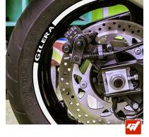 Kit Liserets Jante Moto Gilera - 8 mm