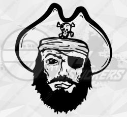 Sticker pirate 1