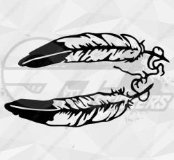 Sticker plumes