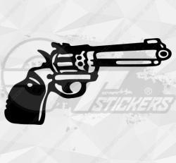 Sticker pistolet