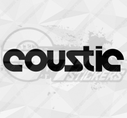 stickers coustic
