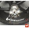 4 Stickers Suzuki VSTROM Déco intérieur jantes Moto