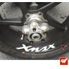 4 Stickers YAMAHA XMAX Déco intérieur jantes Moto