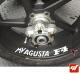 4 Stickers MV AGUSTA F4 Déco intérieur jantes Moto