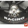 4 Stickers MV AGUSTA Racing Déco intérieur jantes Moto