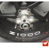 4 Stickers Kawasaki Z1000 Déco intérieur jantes Moto