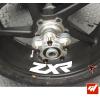 4 Stickers Kawasaki ZXR Déco intérieur jantes Moto