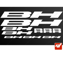 Planche 10 stickers BH