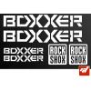 Planche de 6 stickers BOXXER ROCK SHOX