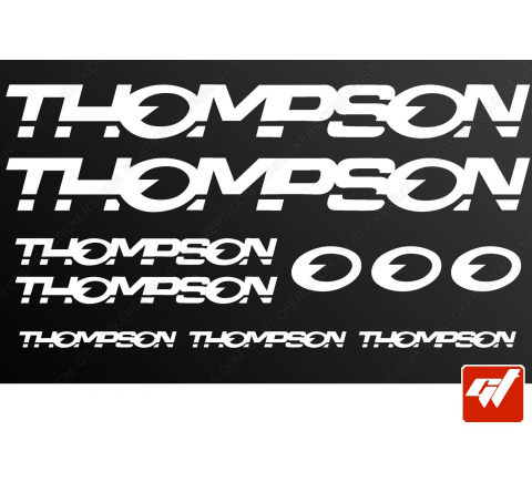 Planche de 10 stickers THOMPSON