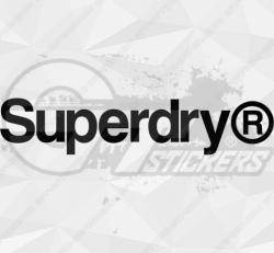 Sticker Superdry