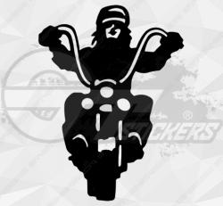 Sticker biker