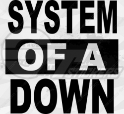Sticker System of a Down