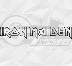 Sticker Iron Maidon