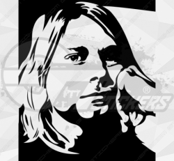 Sticker Cobain