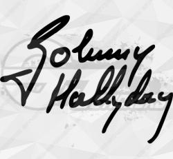 Sticker Johnny Hallyday 3