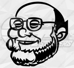 Stickers caricature Hue