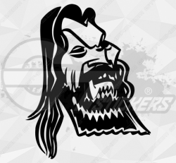 Stickers caricature Chabal