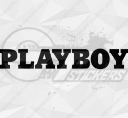 Sticker Playboy 4