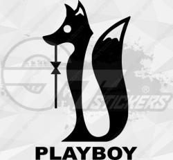 Sticker Playboy 6