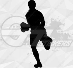 Sticker Rugby Joueur 2