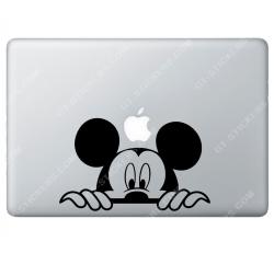 Sticker Apple Mickey Disney pour Macbook - 192x118 mm