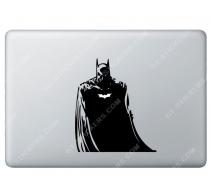 Sticker Apple Batman pour Macbook - Taille : 138x158 mm