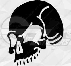 Sticker Tête de Mort 12
