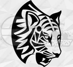 Sticker Tribal Tigre