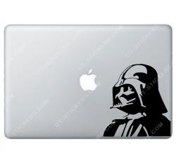 Sticker Apple Star Wars Dark Vador pour Macbook - Taille : 153x141 mm