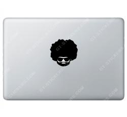 Sticker Apple Afroman Disco pour Macbook - Taille : 74x73 mm