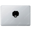 Sticker Apple Afroman Disco pour Macbook - Taille : 74x73 mm