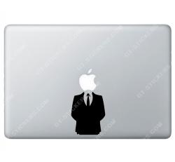 Sticker Apple Habit Classe Smoking Anonymous pour Macbook - Taille : 81x64 mm