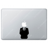 Sticker Apple Habit Classe Smoking Anonymous pour Macbook - Taille : 81x64 mm