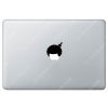 Sticker Apple Coiffure Afro Disco pour Macbook - Taille :56x33 mm