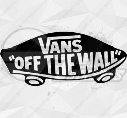 Sticker Vans off the wall