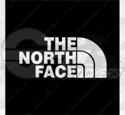 Sticker The North Face 2