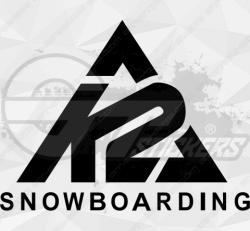 Sticker K2 Snowboarding