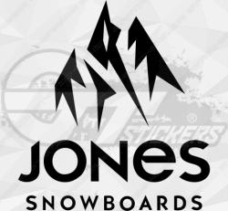 Sticker Jones Snowboards