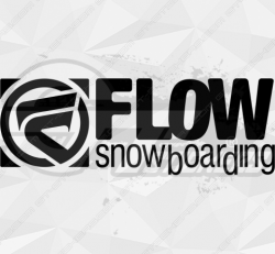 Sticker Flow Snowboarding