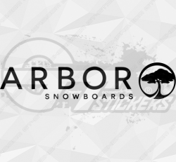 Sticker Arbor Snowboards 2
